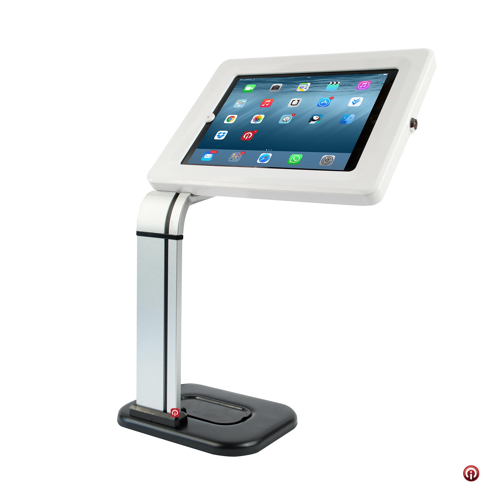 Tsclk14 soporte base kiosko pedestal universal seguridad antirrobo para ipad y tablets de 9 a 11 - Soporte para tablet ...