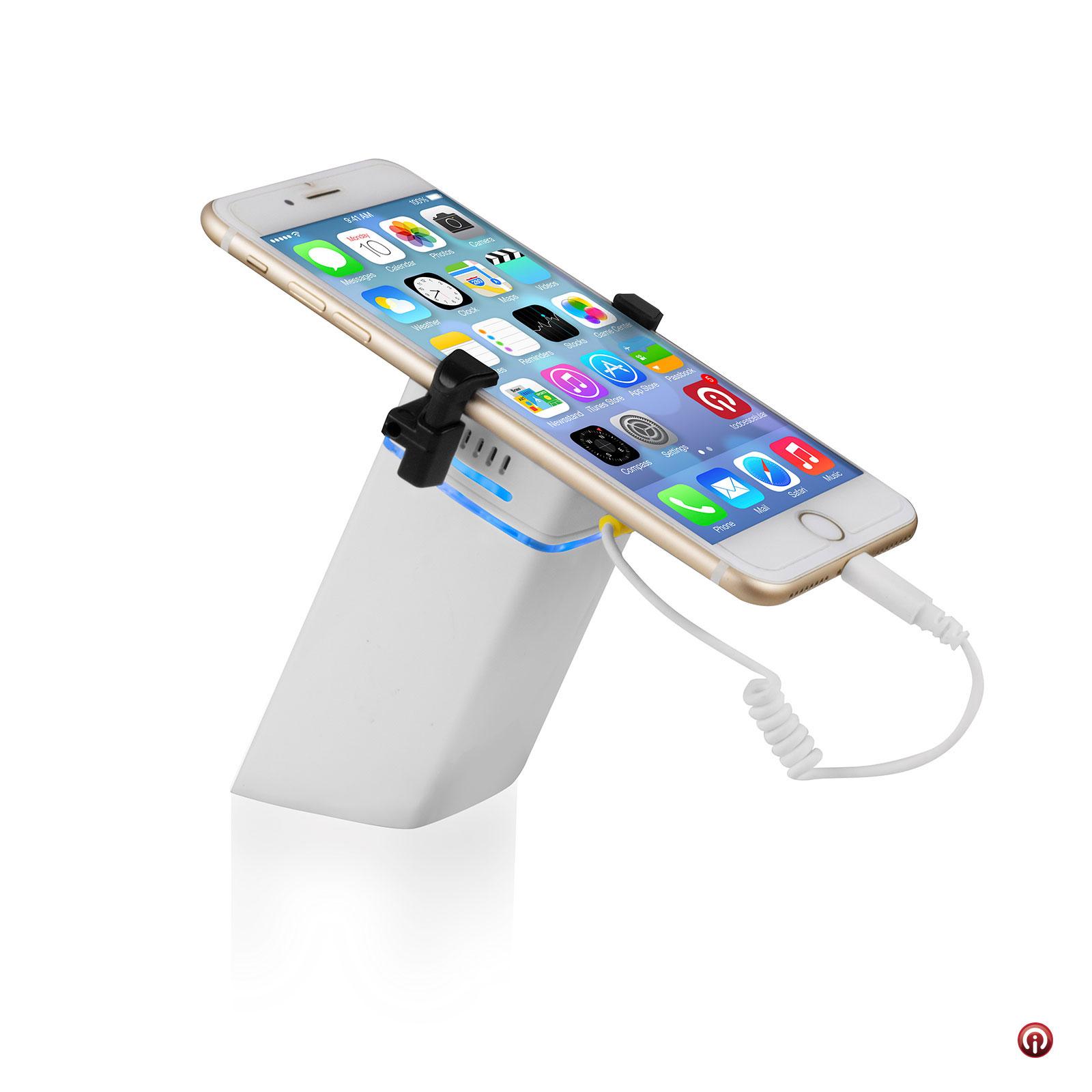Soporte premium para exhibir iPhone